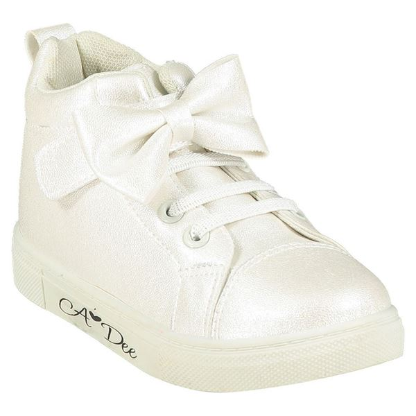 Picture of Ariana Dee Girls White High Tops