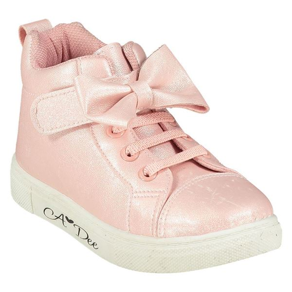 Picture of Ariana Dee Girls Pink High Tops
