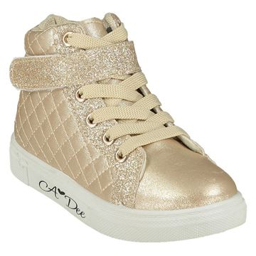 Picture of Ariana Dee Girls Champagne High Tops