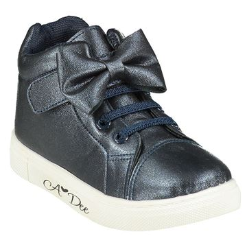 Picture of Ariana Dee Girls Navy High Tops