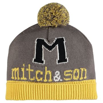 Picture of Mitch & Son Boys 'Declan' Grey/Yellow Hat