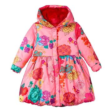 Picture of Oilily Girls 'Charm' Pink Rose Coat