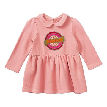 Picture of Oilily Girls 'Hopla' Pink Jumper Dress