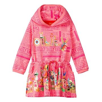 Picture of Oilily Girls 'Tamtam' Pink Printed Dress