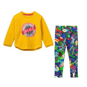 Picture of Oilily Girls 2 Piece Yellow Jumper & Leggings Set
