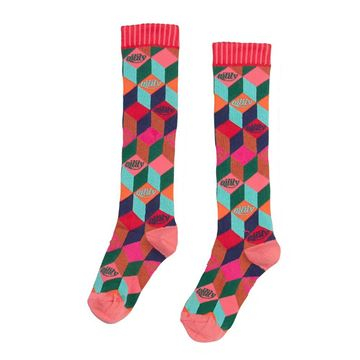 Picture of Oilily Girls 'Mooshie' Multi Coloured Knee Socks