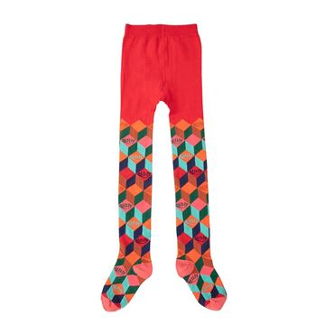 Picture of Oilily Girls 'Moosh' Orange Tights