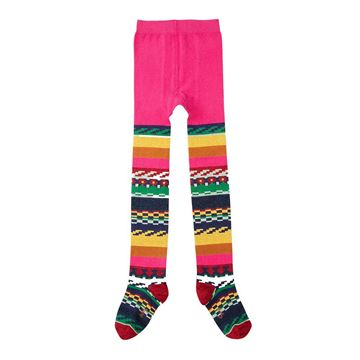 Picture of Oilily Girls 'Multiglitter' Pink Tights