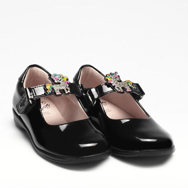 Picture of Lelli Kelly Bonnie Black Patent with Changeable Straps