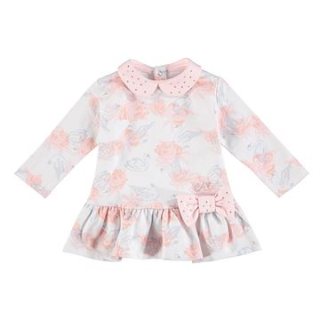 Picture of Little A 'Ivette' Baby Rose Print Dress