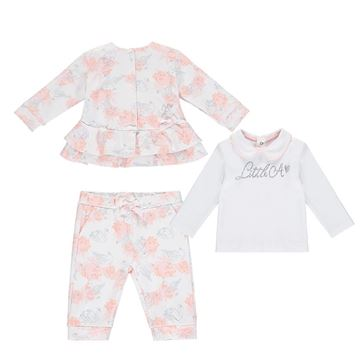 Picture of Little A Baby Rose Print Tracksuit