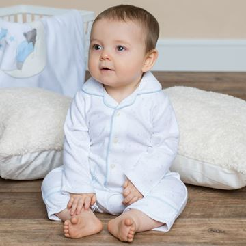 Picture of Emile Et Rose 'Greg' Pale Blue Pyjamas