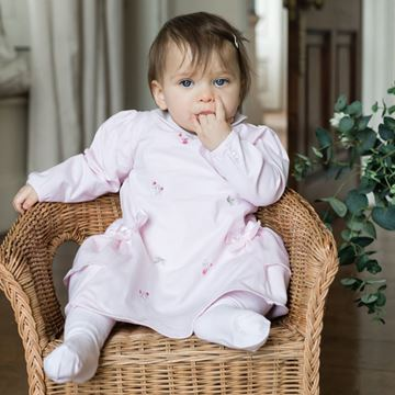 Picture of Emile Et Rose 'Tatiana' Pink Dress with Flowers
