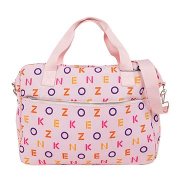 Picture of Kenzo Girls Baby Pink Changing Bag