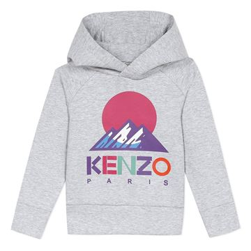 Picture of Kenzo Girls Grey Sport Jumper
