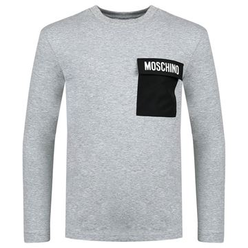 Picture of Moschino Boys Grey Long Sleeve Top