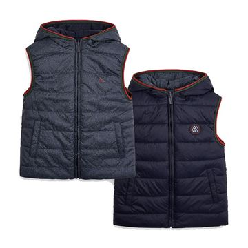 Picture of Mayoral Boys Navy Reversible Gilet