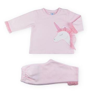 Picture of Sardon Girls Pink Unicorn Tracksuit
