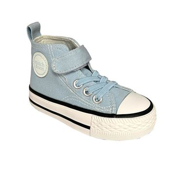 Picture of Mitch & Son Boys Pale Blue High Tops