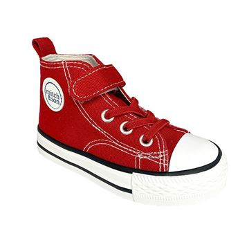 Picture of Mitch & Son Boys Red High Tops