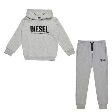 Picture of Diesel Boys Grey Tracksuit