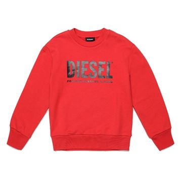 Picture of Diesel Boys Red Jumper