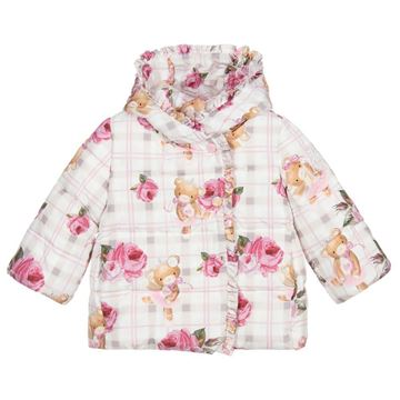 Picture of Monnalisa Baby Girls Teddy Coat