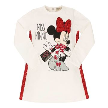Picture of EMC Girls Minnie Mouse White Dress