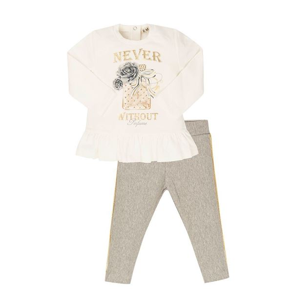 Picture of EMC Girls Silver Leggings Sets