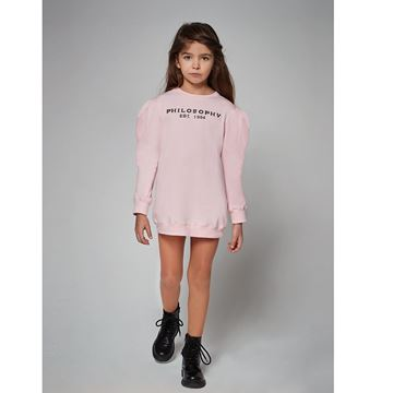 Picture of Philosophy Di Lorenzo Girls Pink Jumper Dress