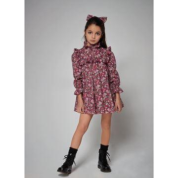 Picture of Philosophy Di Lorenzo Girls Pink Printed Dress