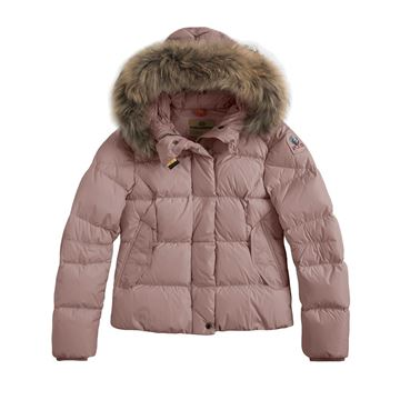 Picture of Parajumpers 'Bambi' Girl Pink Coat
