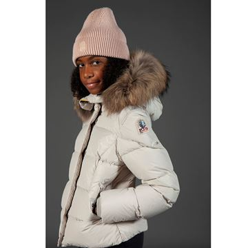 Picture of Parajumpers 'Bambi' Girls Silver Grey Coat