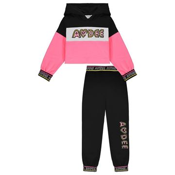 Picture of Ariana Dee Girls Black Tracksuit