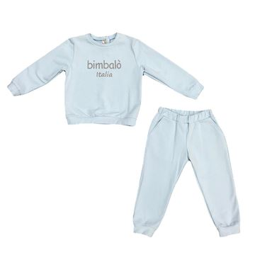 Picture of Bimbalo Boys Pale Blue 2 Piece Tracksuit