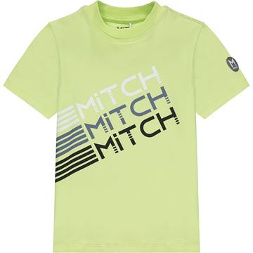 Picture of Mitch 'Maryland' Boys Lime Green T-Shirt