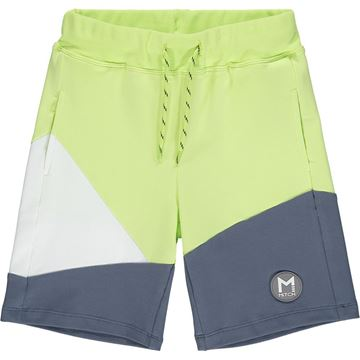 Picture of Mitch 'Vermont' Boys Lime Green Shorts