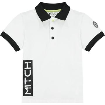 Picture of Mitch 'Ohio' Boys White Polo Top