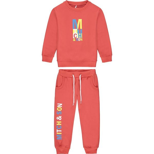 Picture of Mitch & Son 'Candleriggs' Boys Red Tracksuit