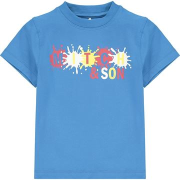 Picture of Mitch & Son 'Castle' Blue T-Shirt