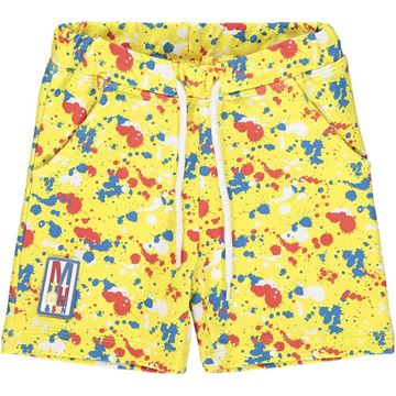 Picture of Mitch & Son 'Clifton' Boys Yellow Printed Shorts