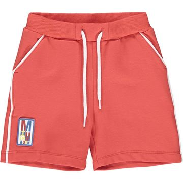 Picture of Mitch & Son 'Claremont' Boys Red Sweat Short