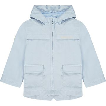 Picture of Mitch & Son 'Bain' Boys Blue Raincoat