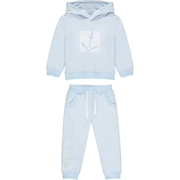 Picture of Mitch & Son 'Berkley' Boys Blue Hooded Tracksuit