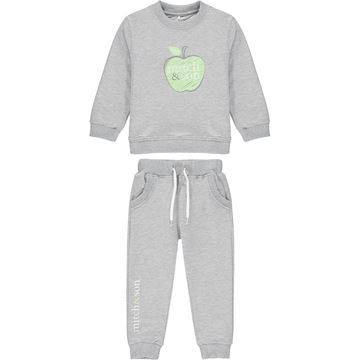 Picture of Mitch & Son 'Govan' Boys Grey Tracksuit