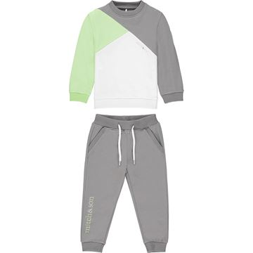 Picture of Mitch & Son 'Garnet' Boys Grey Tracksuit