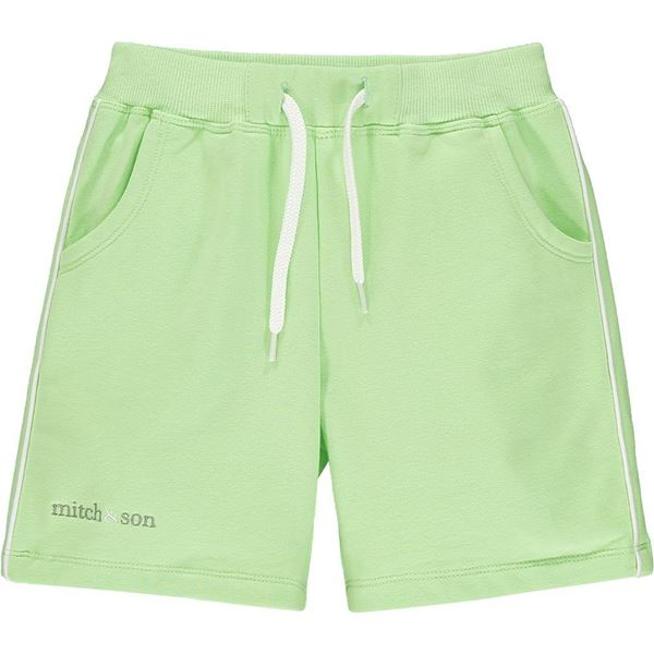 Picture of Mitch & Son 'Glenfarg' Boys Green Sweat Shorts