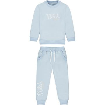 Picture of Mitch & Son 'Bell' Boys Pale Blue Tracksuit