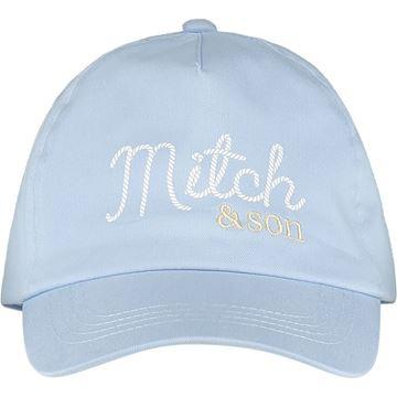 Picture of Mitch & Son 'Biggins' Boys Pale Blue Cap