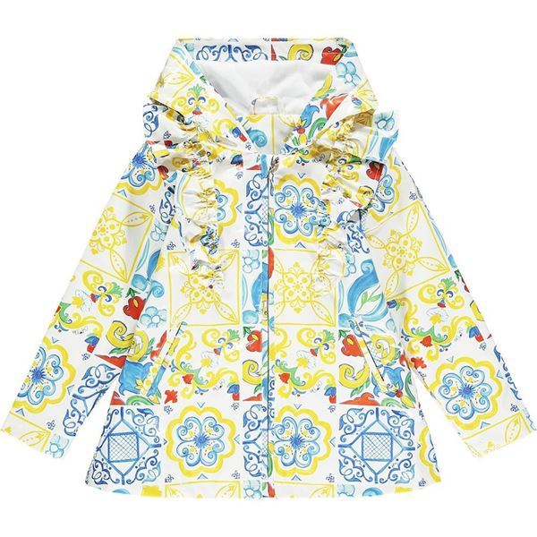 Picture of Ariana Dee Girls 'Layla' Printed Raincoat